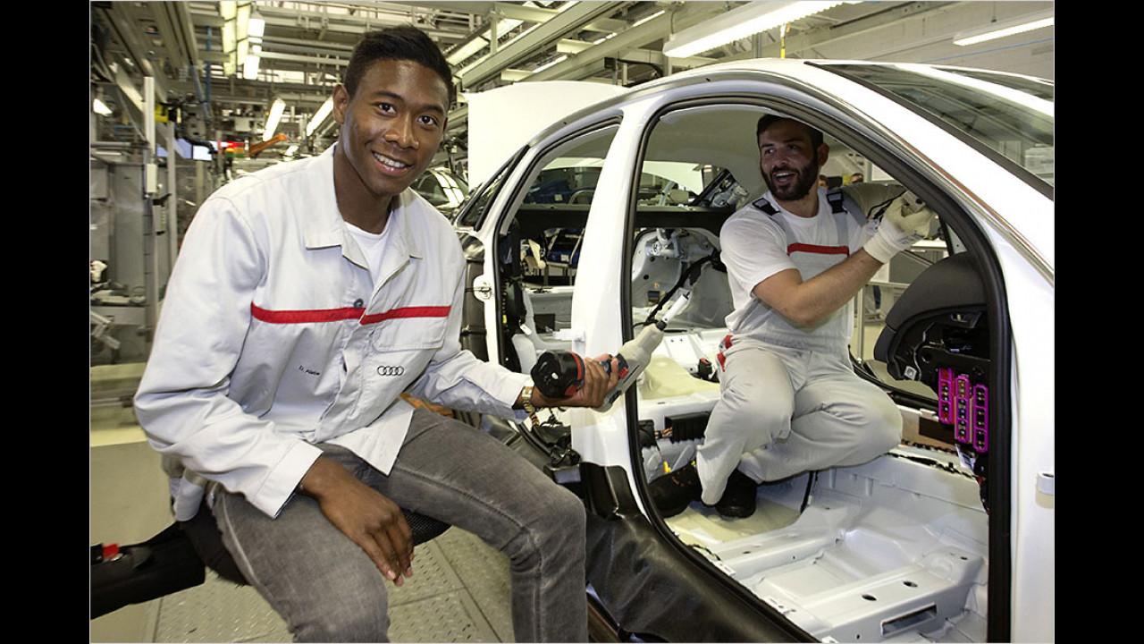David Alaba: Audi