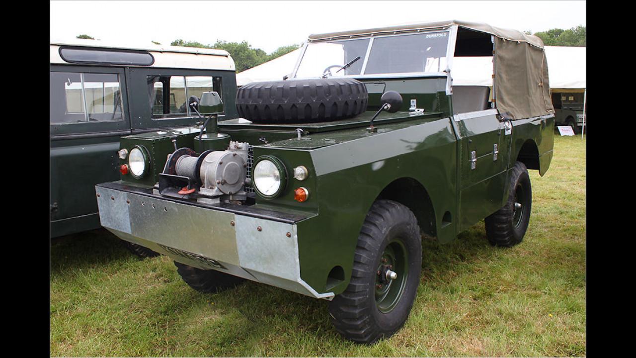 One Ton Amphibious Land Rover (OTAL)