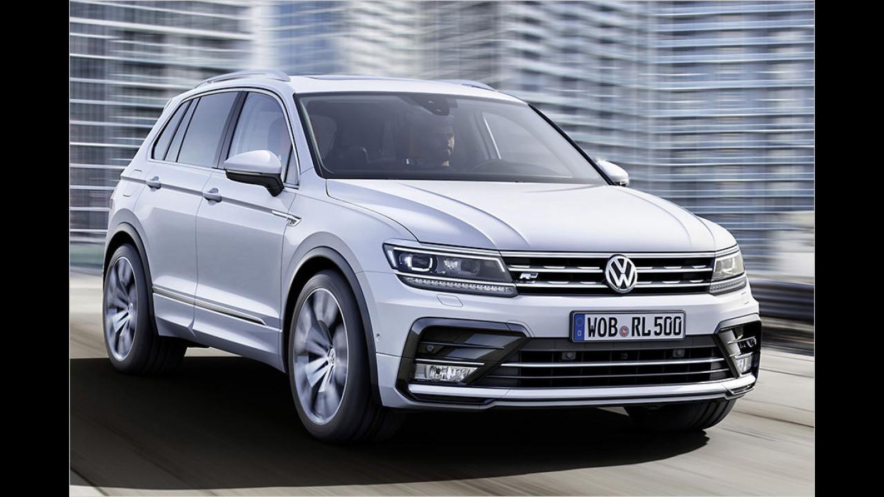 VW Tiguan: 53.975 Neuzulassungen