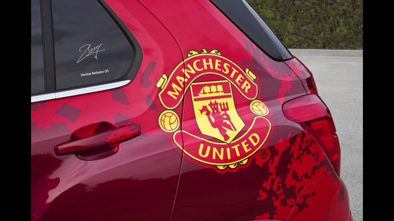 Chevrolet mantém patrocínio ao Manchester United mesmo com saída da Europa