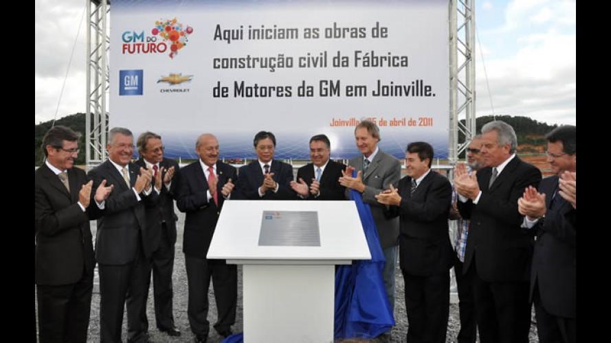 GM inicia construção de nova fábrica no Brasil