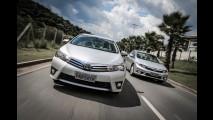 Sedãs médios: Corolla destrona Civic em 2014; Sentra e C4 Lounge avançam