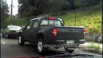 Chevrolet já tem pick-up para competir com Amarok - Leitor flagra modelo em Piracicaba