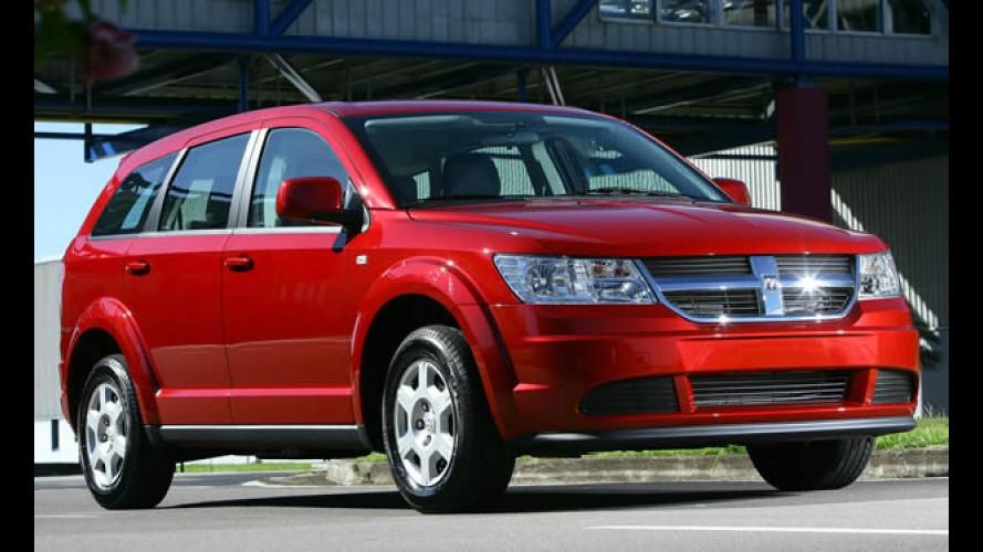 Chrysler conta com apoio logístico da Fiat no Brasil