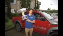 Gabriel Medina, campeão mundial de surfe, ganha Mitsubishi L200 personalizada