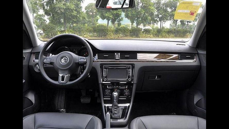 Volkswagen atualiza visual do sedã Bora na China