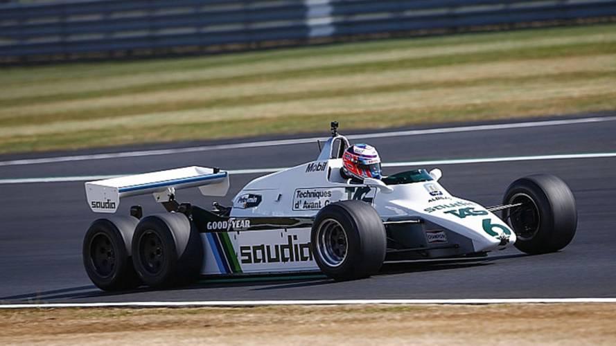 Parade der Formel-1-Legenden in Silverstone
