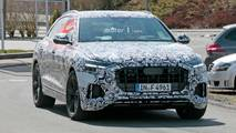 Audi RS Q8 Spy Photos
