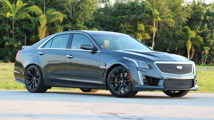 2018 Cadillac CTS-V Review: Fast And Furious, Yet Unrefined
