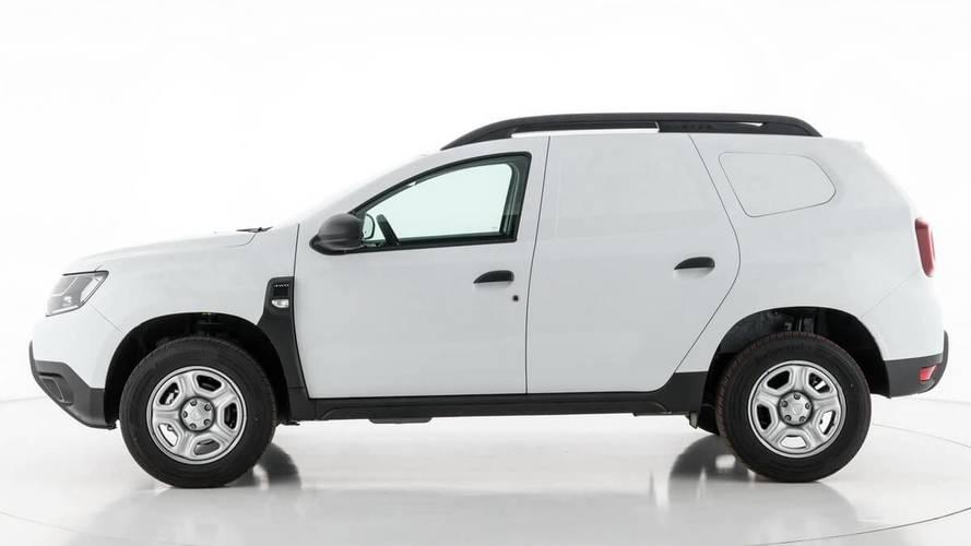 Dacia mostra Duster convertido para serviços de carga