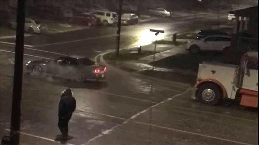 Watch Honda Prelude Sacrifice Its Clutch To Pull Semi Truck