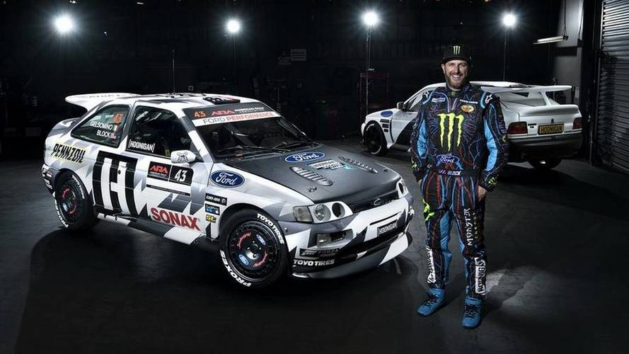 Ford Escort, torna nei rally con Ken Block
