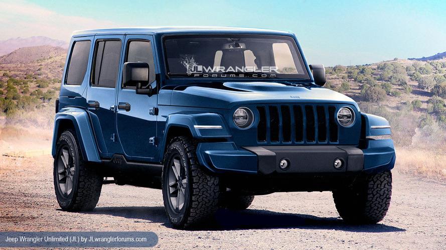 Yeni nesil Jeep Wrangler'ın üretimi kasımda başlayacak