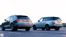 Bentley Bentayga versus Land Rover Range Rover