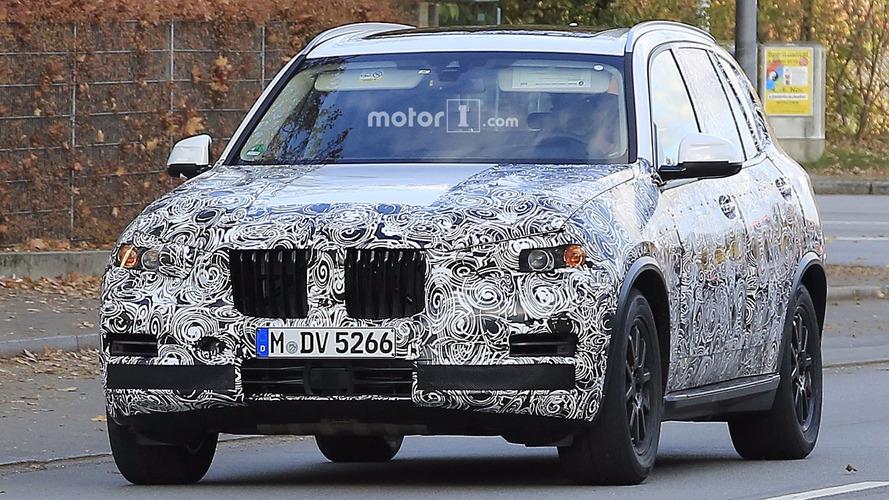 2018 BMW X5 casus fotoğraflar