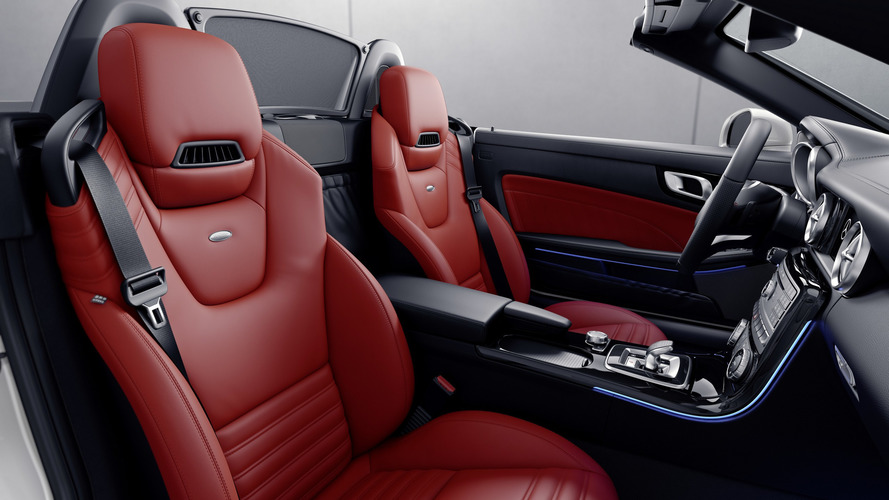 2017 Mercedes SLC RedArt Edition ve SL designo Edition