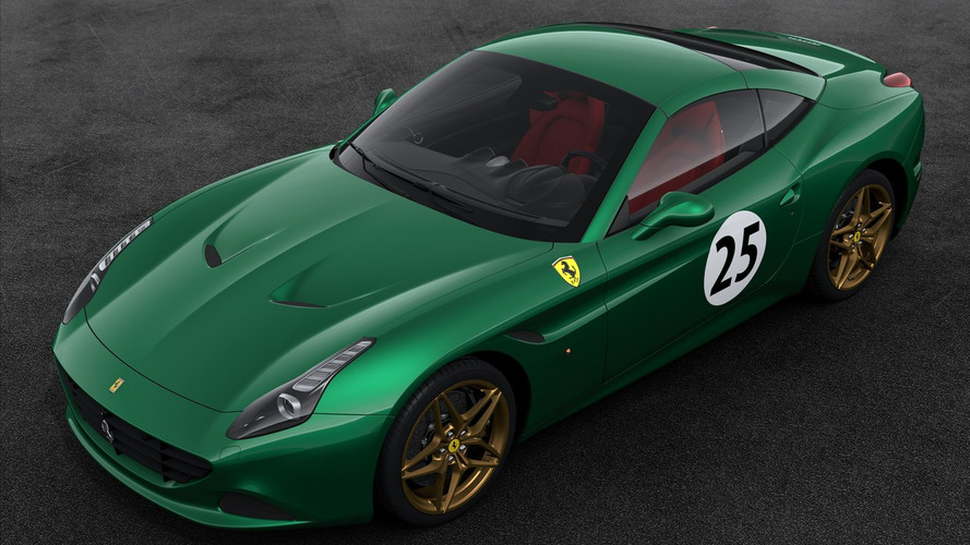 Ferrari 70th anniversary liveries