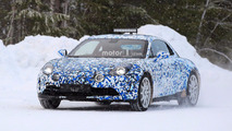 Alpine A120 Spy Photos