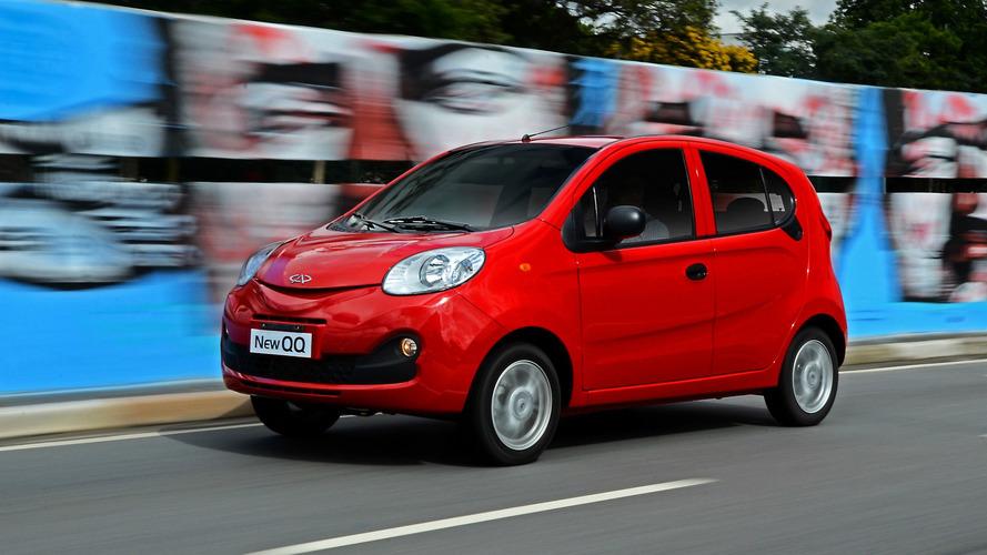Chery QQ nacional terá motor flex em abril e nova versão a R$ 25.990