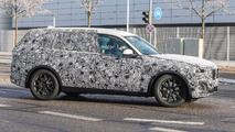 BMW X7 Spy Pics on Road