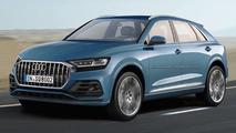 Audi Q8 tasarım yorumu