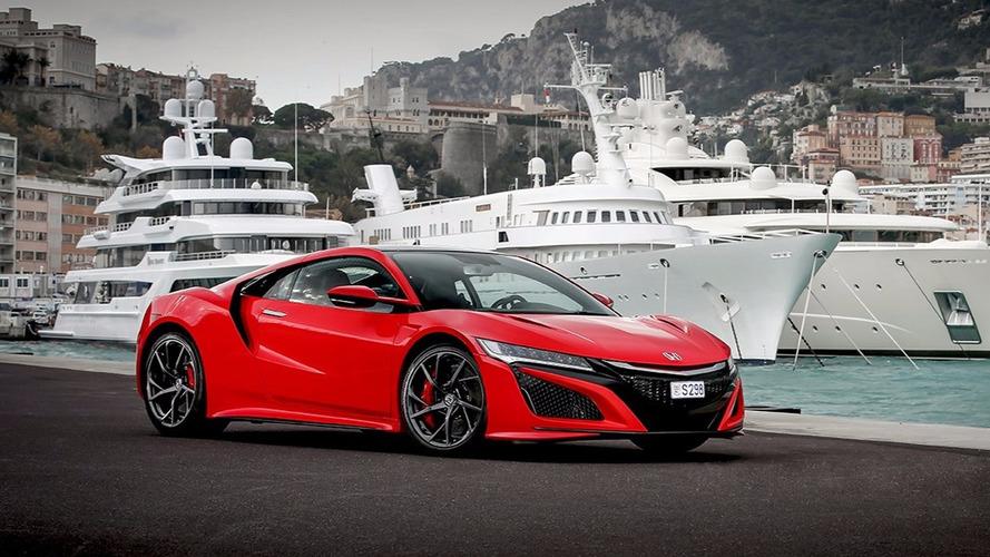 Honda livre sa première NSX en Europe