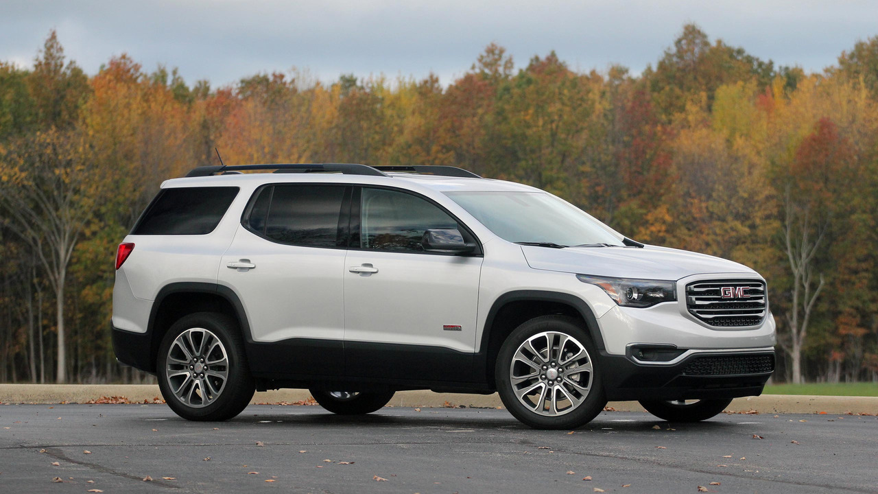 2017 gmc acadia all terrain review. Black Bedroom Furniture Sets. Home Design Ideas