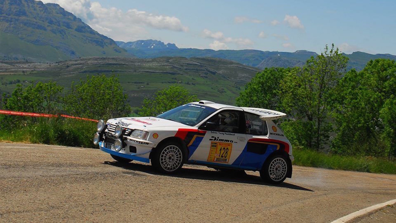Peugeot 205 T16 Rally Car eBay