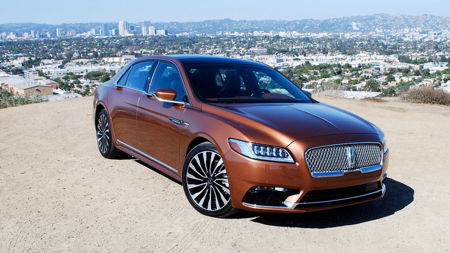 2017 lincoln continental first drive photo gallery. Black Bedroom Furniture Sets. Home Design Ideas