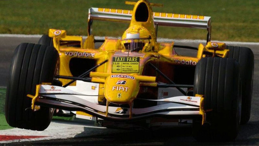 Schumacher Commandeers Taxi