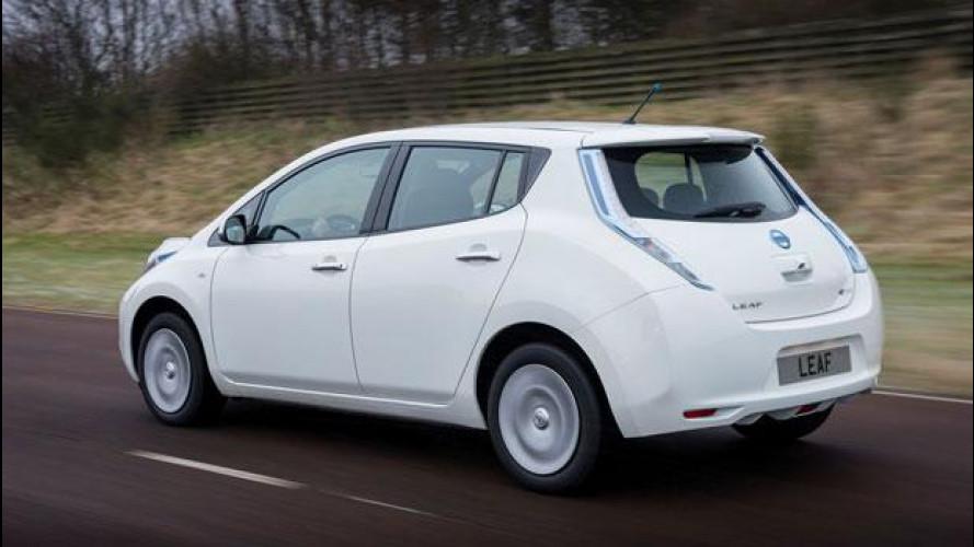 Nissan Leaf MY 2016 si vede e si prova in anteprima ad H2R