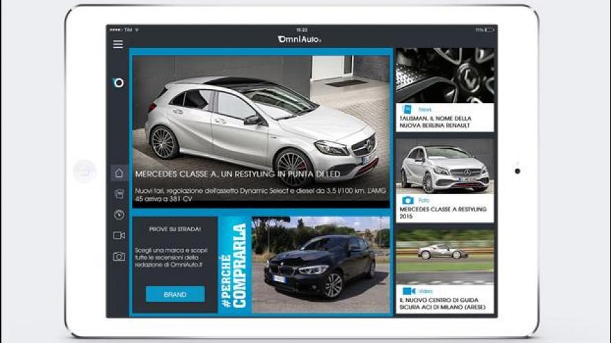 OmniAuto.it, arriva l'app dedicata ai tablet iOS o Android