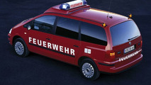 Volkswagen Sharan fire engine