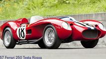 1957 Ferrari 250 Tesa Rossa prototype up for auction