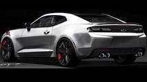 Chevrolet Camaro Red Line Series concept unveiled for SEMA