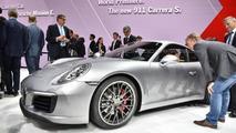 Porsche 911 Carrera S facelift turbocharges into Frankfurt