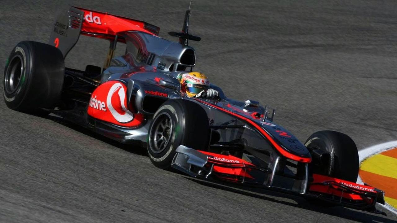 Lewis Hamilton (GBR), McLaren Mercedes, MP4-25 Testing, 02.02.2010 Valencia, Spain