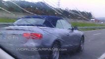 Audi A5 Cabriolet on AP7 highway in Barcelona