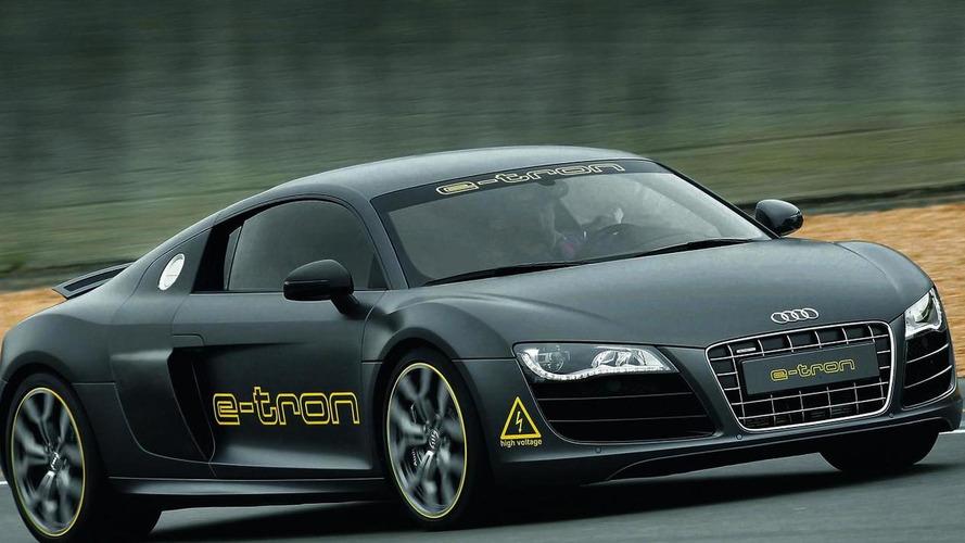 Audi R8 e-tron enters Silvretta E-Auto Rally Montafon 2010