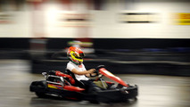 Lance Stroll, indoor karting track, Montreal Canada, 10.06.2010