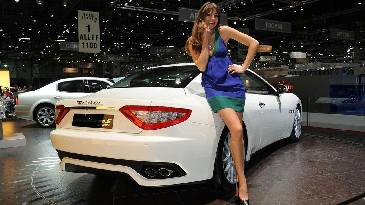 Maserati Granturismo S Automatic Unveiled in Geneva 03.03.2009