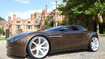 Aston Martin Volare concept student design