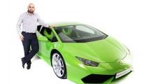Lamborghini Huracan İngiltere'de taksi oldu