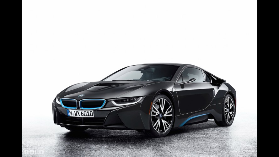 BMW i8 Mirrorless Concept