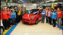 Fiat comemora a marca de 1 milhão de Puntos produzidos na Itália