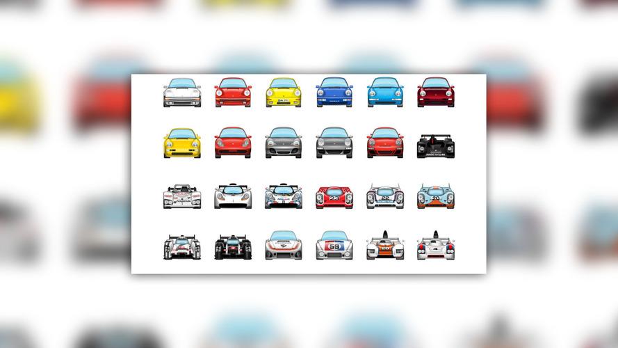 Porsche emoji paketi iPhone'la mesajlaşmayı çok daha eğlenceli hale getiriyor