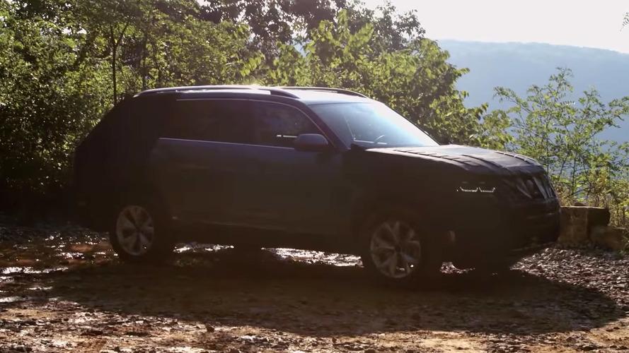 Volkswagen Atlas - Le futur crossover attendu pour le Salon de Los Angeles