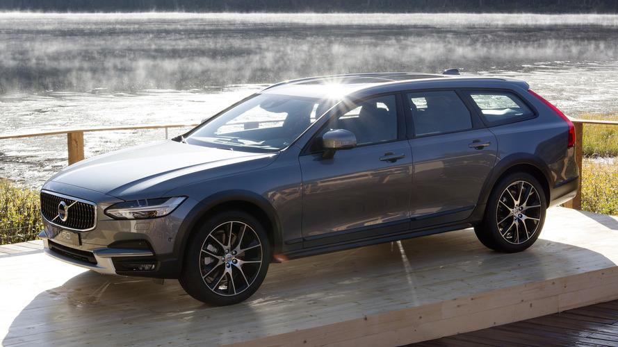 2017 Volvo V90 Cross Country tüm yollara hazır