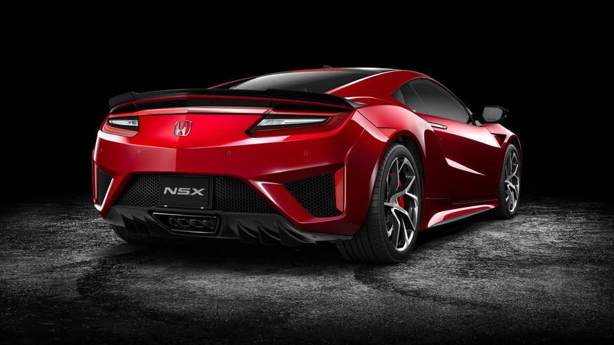 Honda NSX 2017 AU Spec