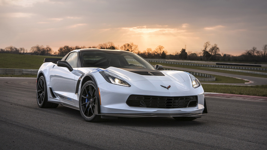 Chevy Auctioning Off First Corvette Carbon 65 To Benefit Veterans